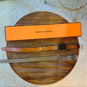 HERMES APPLE WATCH TWO BANDS